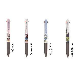 油性ボールペン ジェットストリーム 3色ボールペン 【ディズニー】 三菱鉛筆 SXE3-504D-05|penport