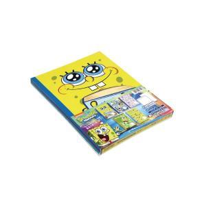 スポンジ・ボブ スマーティー B5 パックノート 5冊束 キョクトウ U14105 【メール便OK】|penport