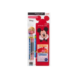 ゲルインクボールペン リフィル スタイルフィットディズニー【3色セット】 三菱鉛筆 UMR-129DS-38-3CB|penport