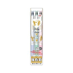 ノック式消せるボールペン ディズニー 3色セット uni-ball R:E(ユニボール アールイー) 【0.5mmボール】 三菱鉛筆 URN-200D-05-M3C|penport