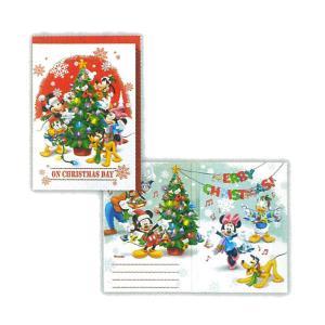 クリスマス プリントオルゴールカード 【ディズニー・パルス赤ベルツリーII】 ホールマーク XAO-730-222|penport