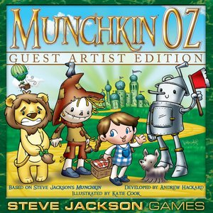 Steve Jackson Games Munchkin Oz Guest Artist Editi...
