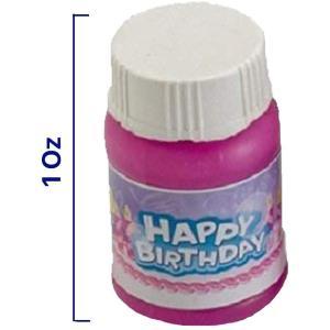 Kicko Happy Birthday Bubbles Assorted Color Mini 1...