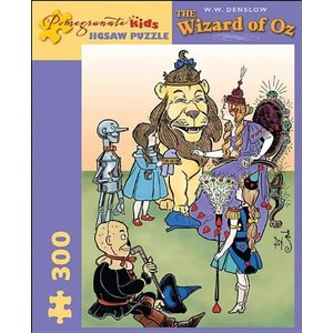 The Wizard of Oz: 300 Piece Puzzle (Pomegranate Ar...