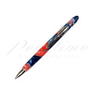 レシーフ ボールペン パールオーガナイザー recife438 ピンク&ブルー   名入れ有料