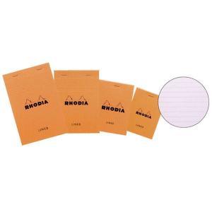 ロディア 単品 ブロックロディア No.12 オレンジ 横罫 #65SCF12600  (250)|penworld