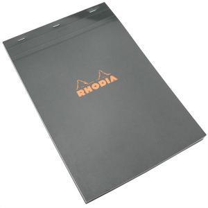 ロディア RHODIA 単品 ブロックロディア No.19(A4) 5mm方眼 ブラック CF192009 10282 (1100) penworld