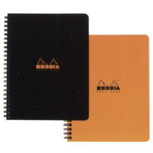 ロディア RHODIA 単品 クラシック ダブルリングノート(A5) オレンジ 5mm方眼 CF193428 10283 (850) penworld