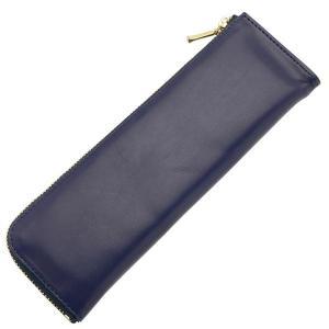 ライフ 本革 L型ペンケース 紺 SA321B 10699 (2200)|penworld