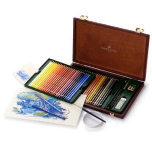 ファーバーカステル FABER-CASTELL 水彩色鉛筆 アルブレヒト デューラー水彩色鉛筆 117506 48色+アクセサリー(木箱入) 11277 (23000)|penworld