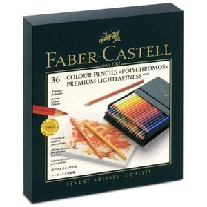 ファーバーカステル FABER-CASTELL 色鉛筆 ポリクロモス色鉛筆 110038 36色(スタジオBOX) 11296 (10800)|penworld