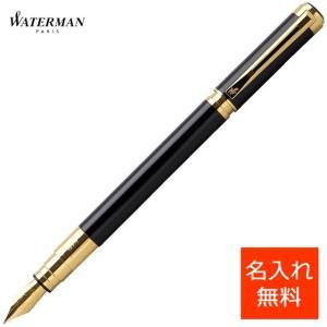万年筆 ウォーターマン 名入れ 無料 WATERMAN パースペクティブ S223610 ブラックGT|penworld