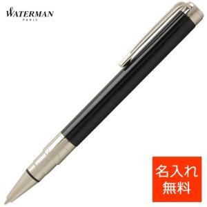 ボールペン ウォーターマン 名入れ 無料 WATERMAN パースペクティブ S2236312 ブラックCT|penworld