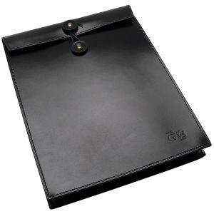 國鞄 鞄 エンブロープ牛革書類入れ NO2224-BLK 黒 182ANO2224-BLK (25000)|penworld