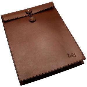 國鞄 鞄 エンブロープ牛革書類入れ NO2224-BR 茶 182ANO2224-BR (25000)|penworld