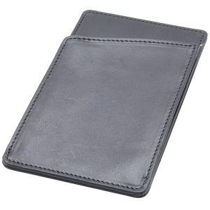 國鞄 メモパッド スクラッチャー NO2222-BLK 合タンヌメ ブラック 182ANO2222-BLK (8000)|penworld
