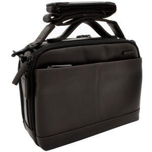 イケテイ KARUWAZA 鞄 ウイング 横型手付ショルダーバッグ チョコ 小 18163-CHO 17751 (28500)|penworld