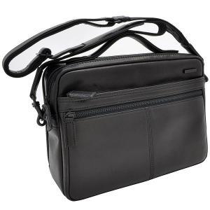 イケテイ KARUWAZA 鞄 ウイング 横型手付ショルダーバッグ ブラック 中 197A18164-BLK (27000) penworld