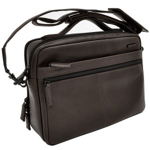 イケテイ KARUWAZA 鞄 ウイング 横型手付ショルダーバッグ チョコ 中 197A18164-CHO (27000) penworld