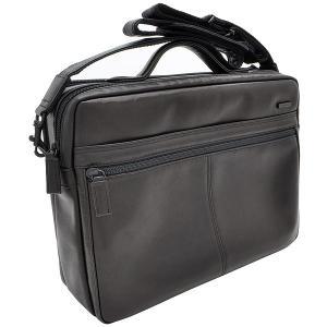 イケテイ KARUWAZA 鞄 ウイング 横型手付ショルダーバッグ ブラック 大 197A18165-BLK (30000) penworld