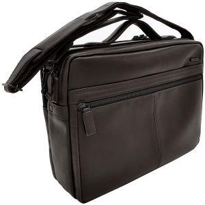 イケテイ KARUWAZA 鞄 ウイング 横型手付ショルダーバッグ チョコ 大 197A18165-CHO (30000) penworld