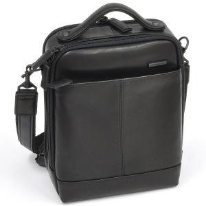 イケテイ KARUWAZA 鞄 ウイング 縦型手付ショルダーバッグ ブラック 小 18166-BLK 18085 (28500)|penworld