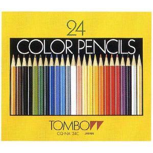 トンボ鉛筆 色鉛筆 CQ-NA24C 24色(紙箱) 1958 (1440) penworld