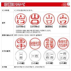 ボールペン 印鑑付き / 三菱鉛筆 ネームペン 印鑑付ボールペン SH-1002T-15 透明赤 19997 (1000)|penworld|02
