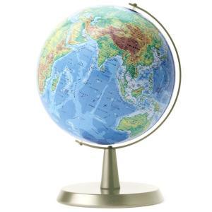 ワタナベ(渡辺教具製作所) 地球儀 卓上地球儀 WB W-2302 地勢 シルバー台 20196 (9500)|penworld