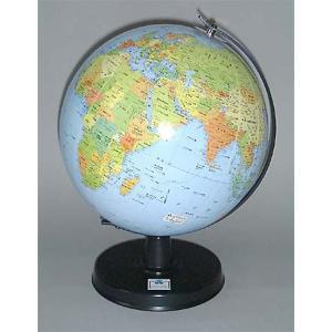 ワタナベ(渡辺教具製作所) 地球儀 卓上地球儀 WBC W-2307 行政 黒台 20199 (7800)|penworld