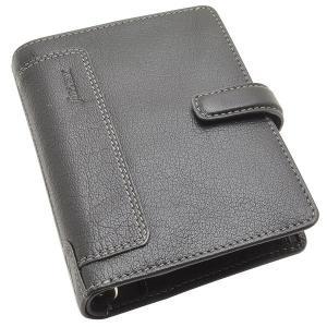 システム手帳 ブランド / ファイロファックス ポケットサイズ ホルボーン システム手帳 F025115 ブラック 37AF025115 (14000)|penworld
