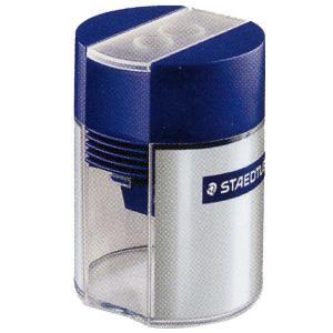 ステッドラー 鉛筆削り 鉛筆削り 512 001 蓋付きシャープナー(2穴) *92A512001 (550)|penworld