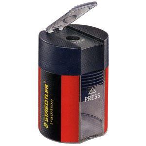 ステッドラー 鉛筆削り 鉛筆削り 511 005 トラディション 蓋付きシャープナー(1穴) *92A511005 (450)|penworld