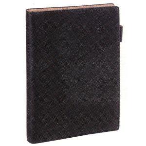 ダ・ヴィンチ システム手帳 ダヴィンチグランデ アースレザー A5サイズ リング15mm  JDA154B ブラック *53AJDA154B (17000)|penworld