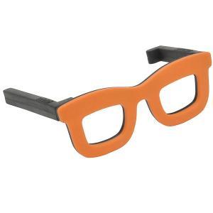 アイデア文具・雑貨 セルテヴィエ メガネのバッグハンガー オレンジ J///159Aglassesgr_OR (2000)|penworld