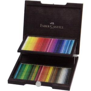 ファーバーカステル FABER-CASTELL 水彩色鉛筆 アルブレヒト デューラー水彩色鉛筆 117572 72色(木箱入) 21442 (48000)|penworld