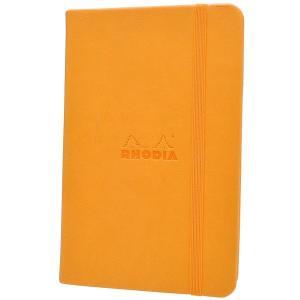 ロディア A5サイズ ウェブノートブック cf118608 オレンジ 横罫 65Scf118608 (2400)|penworld