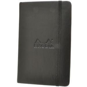 ロディア A6サイズ ウェブノートブック cf118569 ブラック 5mmドット方眼 65Scf118569 (1500)|penworld