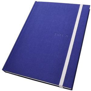 エイステーショナリー A5サイズ SOLA ノート N003 ハードカバー 7ミリ横罫 / 高級 ブランド /  243AN003 (2900)|penworld