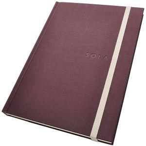 エイステーショナリー A5サイズ SOLA ノート N005 ハードカバー 無地 / 高級 ブランド /  L//243AN005 (2500)|penworld