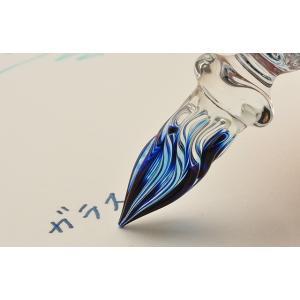 ガラスペン ガラス工房 まつぼっくり ガラスペン トライアングル tri-cl クリア 23892 |penworld|06