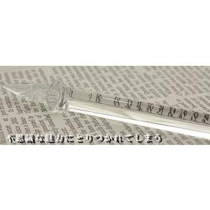 ガラスペン ガラス工房 まつぼっくり ガラスペン トライアングル tri-cl クリア 23892 |penworld|08