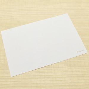 クオレッティ コットン ホワイト カード XG1631 無地 256A-XG1631 (270)|penworld