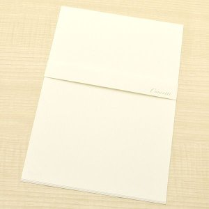クオレッティ コットン クリーム A5便箋 XG1541 無地 256A-XG1541 (270)|penworld