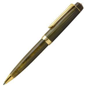 ボールペン 名入れ / Pent〈ペント〉 コンバーチブルペン by大西製作所 アセテート スワロフスキ―付き オリーブの収穫  24470 (12300)|penworld
