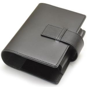 Pent〈ペント〉 パピルス ヌメ革 byケイシイズ KCC003C-BK ノートブックカバー ブラック 24795 (11200)|penworld