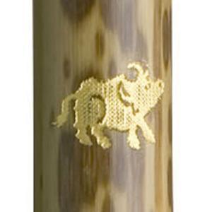 あかしや 万年毛筆 天然竹筆ペン カスタムオーダー 干支シリーズ 丑 (名入れ無料サービス) 259FAK3200MK-2 (3200)|penworld