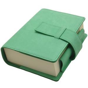 Pent〈ペント〉 パピルス ヌバック by大和出版印刷&ケイシイズ ノートブック&カバーセット ミントグリーン 185AKCC008AS-S21 (12700)|penworld
