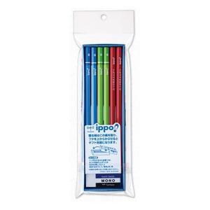 筆記用具 子供用 / ippo !(イッポ) 鉛筆 お祝いえんぴつ 男の子用 1ダース(ペンハウス Yahoo店) *60PMP-KM01- (800)|penworld