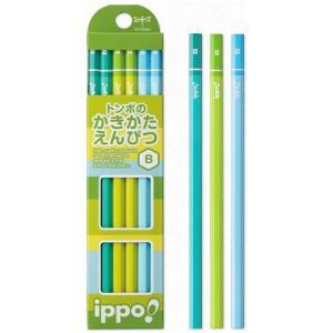 筆記用具 子供用 / ippo !(イッポ) 鉛筆 かきかたえんぴつ 無地 男女用 1ダース(ペンハウス Yahoo店) *60PKB-KPN02- (600)|penworld